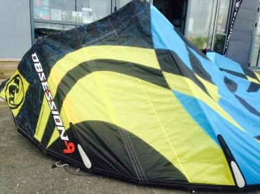 OBSESSION APRES - j'ai cassé ma voile .com - réparation aile de kitesurf windsurf voilerie brest