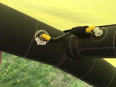 Voilerie J'ai cassé ma voile brest - réparation aile de kitesurf rrd vision latte déchirée réparée