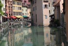 Vieux canaux Annecy