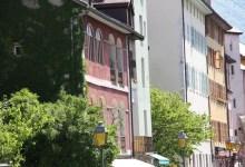 Vue des facades de la vieille ville