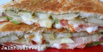 Jain Mumbai Vegetable Sandwich