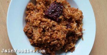 Jain Tamarind Rice