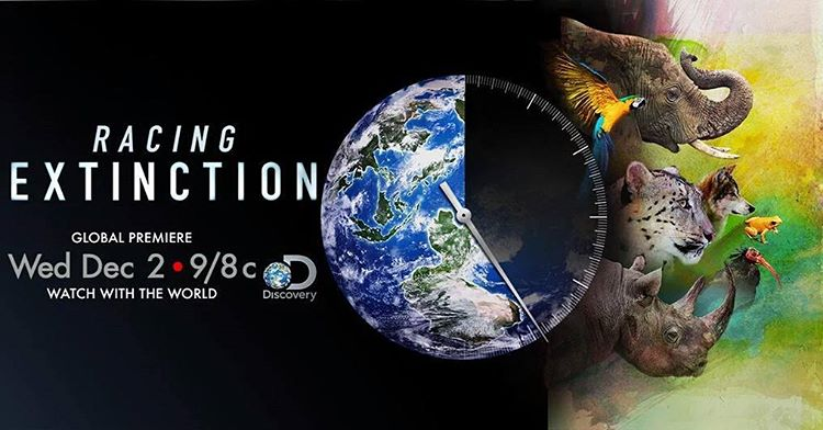 Dont miss the global premiere of RacingExtinction on Dec 2hellip