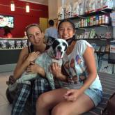 Mickey has been adopted today! Thank you Lilian & family for giving this awesome boy a good home! You are going to enjoy your new family member a lot, because he has such a personality!