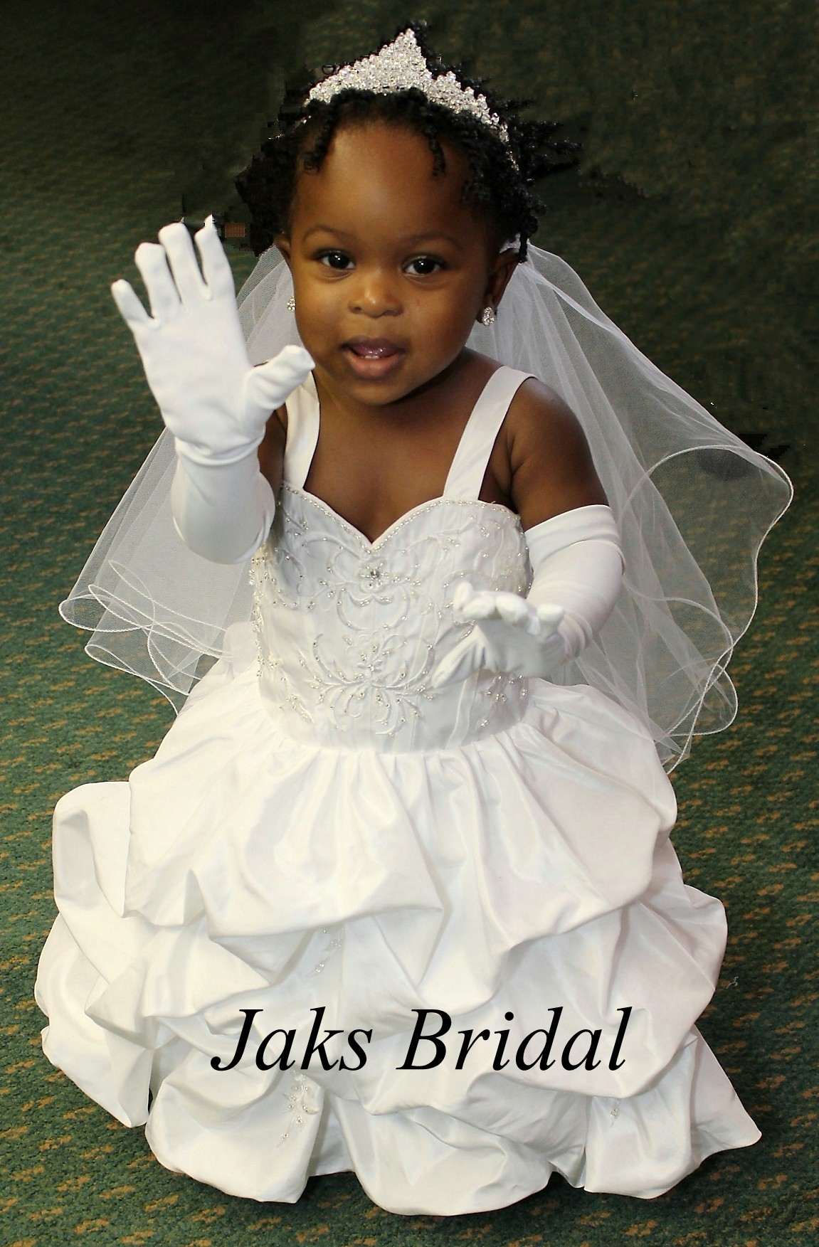 infant and toddler wedding dresses baby wedding dresses Toddler wedding dress with pickup skirt