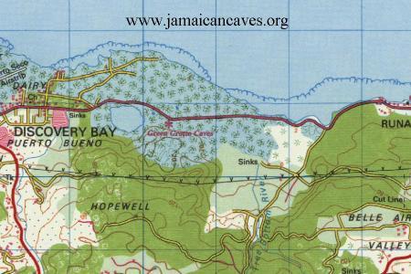 runaway bay topo map
