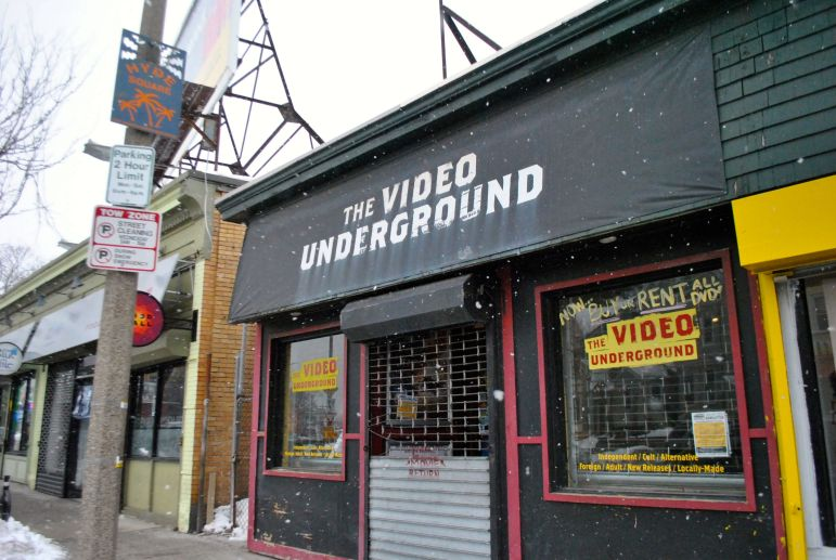 Video Underground, one of the last independent video stores in Boston, is closing.
