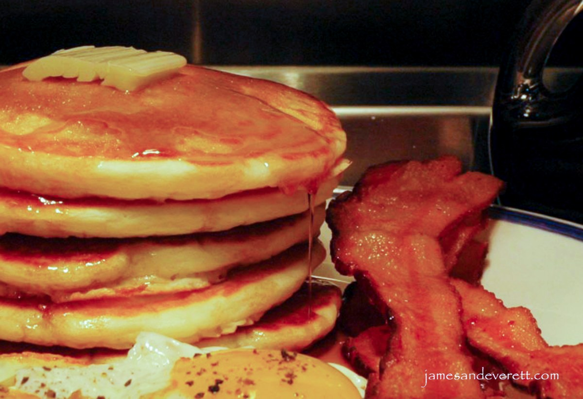 Good Old Fashioned Pancakes – James & Everett