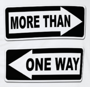 More than One Way Signs
