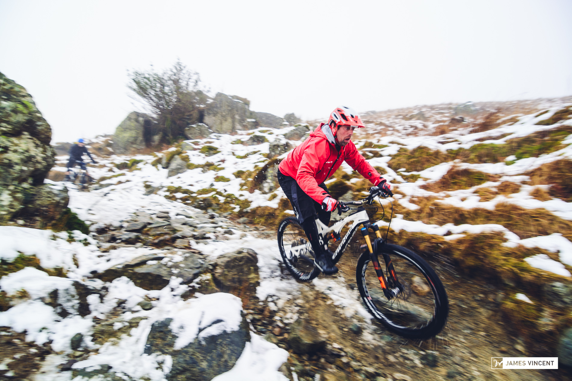 Shaun Palmer on the Garburn Pass
