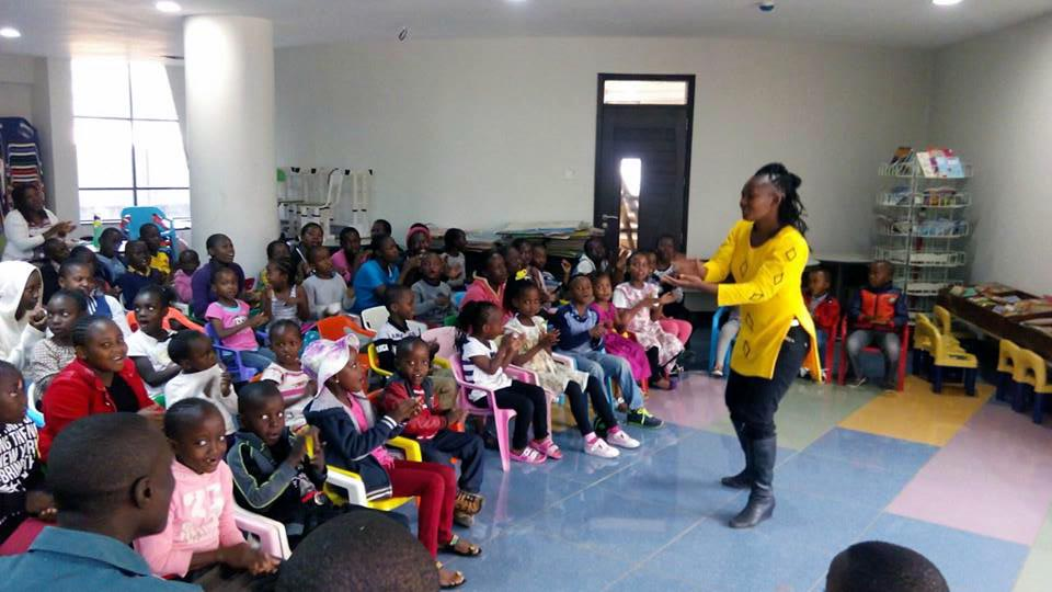 Wangari the Storyteller features at Kenya National Library Kids Book Club