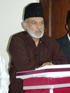 Mubarak Ahmad Zafar Sahib Add.Wakil ul Maal