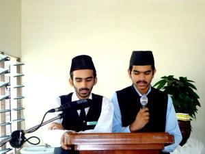 Mr. Waleed Ahmad & Mr. Talha Ahmad (Poem)