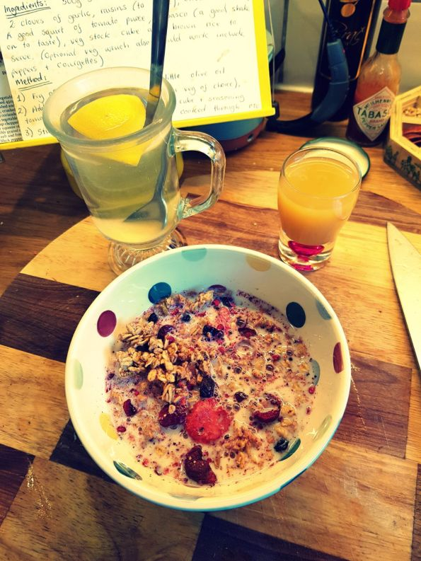 JamJarGill: Meatless Monday: wk48: Breakfast