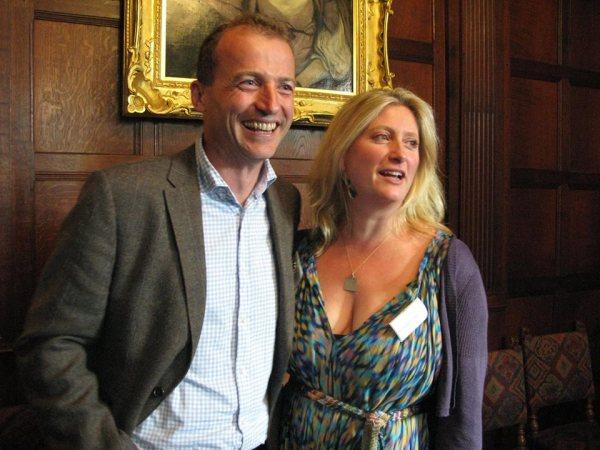Mr. Bingley e Jane Bennet em 2015