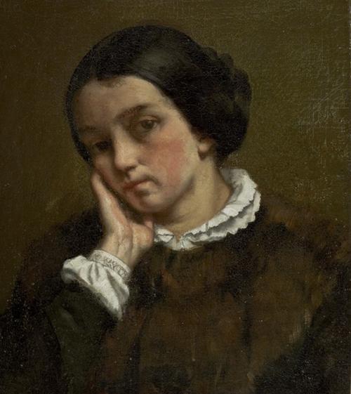 Zélie Courbet, Gustave Courbet, 1847, MASP