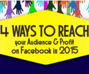 4 Ways to Reach your Audience and Profit on Facebook in 2015 – Infographic