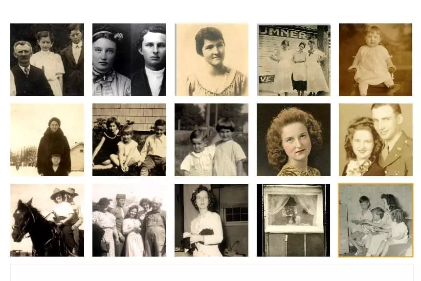 My Mother, her Grandparents, Parents, husband, Siblings and Children