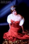 princess at the gala ball