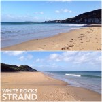 Managed to fit in a walk on White Rocks Strand between janmary jewellery deliveries on the north coast today