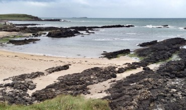 Portballintrae beach this morning