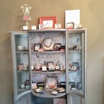A sneak peek – delighted for my janmary jewellery to be part of @littlefrenchbarn new location in Lisburn #anniesloan