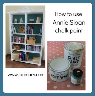 how to use annie sloan chalk paint