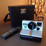 Vintage Polaroid camera – gave this to my daughter as part of her birthday present