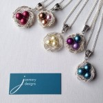 Creating more Janmary Designs nest pendants today – which one would you choose?