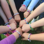 Janmary Designs kids jewellery making birthday party in Saintfield today