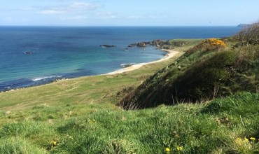Perfect day for geocaching on the north coast of Northern Ireland – we found 8!