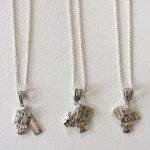 Creating lovely pendants – perfect teacher gifts – order one today from Janmary Designs