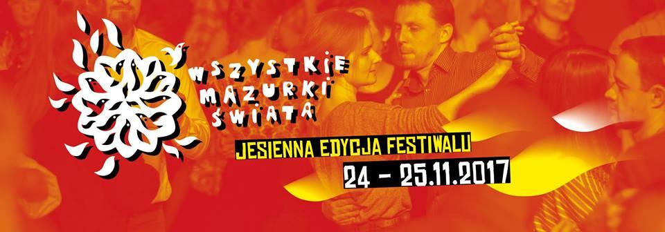 mazurki jesień 2017