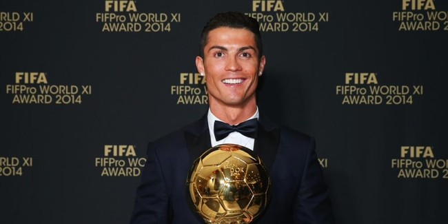 FIFA Ballon d'Or 2014 Ronaldo'nun!