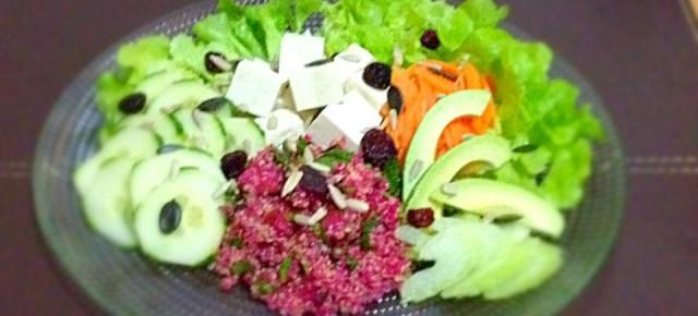 Salade au tofu 豆腐入りサラダ