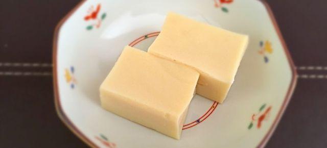 Tofu de pois chiches ひよこ豆の豆腐