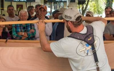Jarrett Bay Partnering with Boat Building Challenge