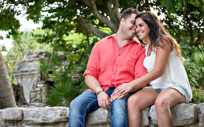 Stephanie & Daniel - Surprise Proposal in the Mayan Riviera