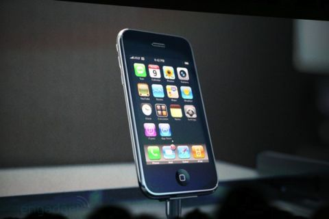 The new iPhone 2.0 with 3G and GPS
