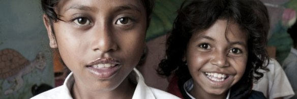 Expedition links by adventurer Jason Lewis: Familia Hope orphanage in East Timor