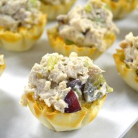 Chicken Salad Tarts from www.jasonscooking.com