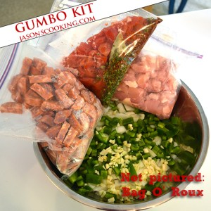 Frozen Gumbo Kit from www.jasonscooking.com