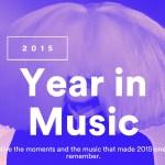 Top 5 songs van 2015