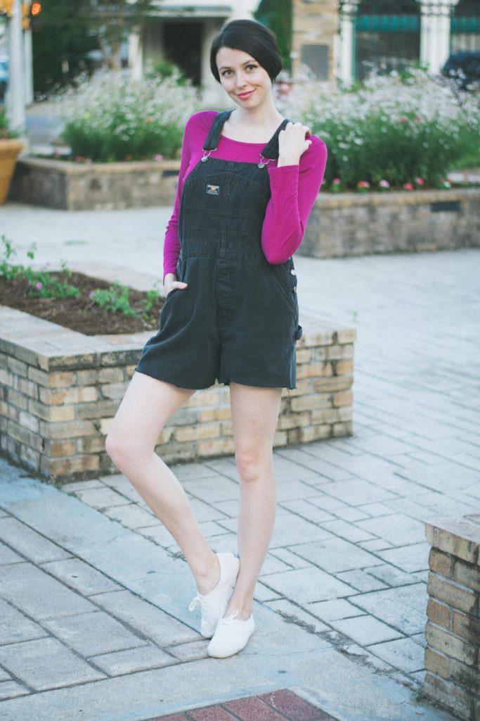 Yessss. Love wearing overalls.