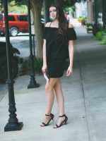 Summer to Fall All Black Outfit