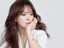 Song Hye Kyo in a White Dress