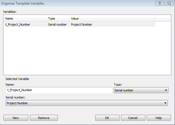 folder template variables