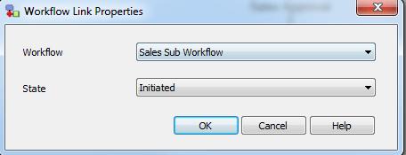 Workflow Link Properties