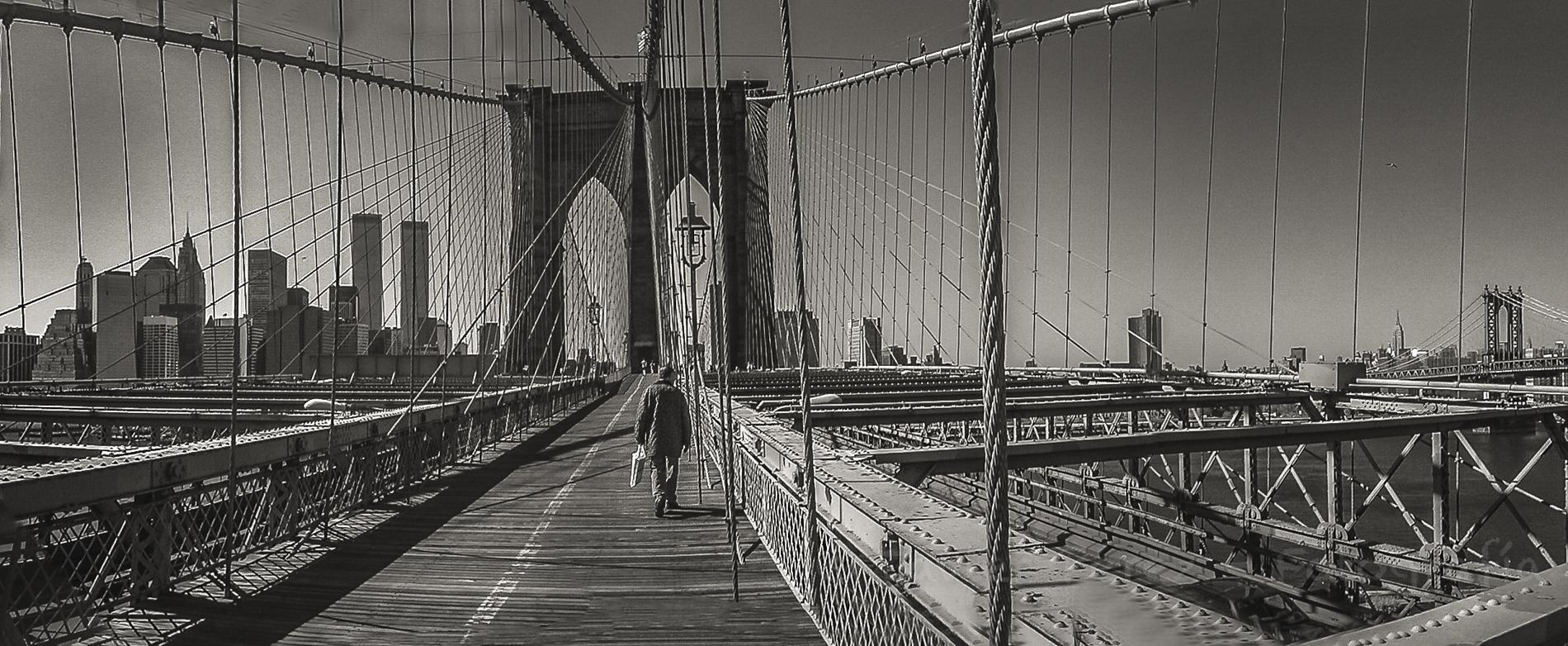 Puente de Brooklyn ©Javier Pérez - 1.999