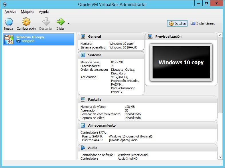 Iniciar MV VirtualBox al inicio de Windows 01